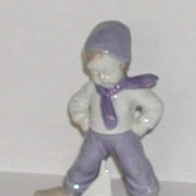 Porcelain Kobenhavn Dutch Boy Figurine Copenhagen