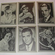 Set 1930s MGM Movie Stars Lux Soap Advertising Premium Photos