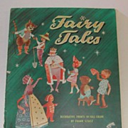 6 1959 Fairy Tale Prints Frank Szazs Pinocchio Red Riding Hood etc