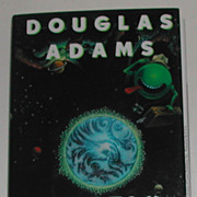 Signed Douglas Adams Mostly Harmless Hardback Book 1st Edition