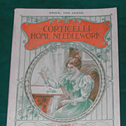 Antique1899 Corticelli Home Needlework Book Lovely old patterns