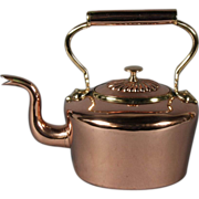 Fine 19th Century English Dovetailed Copper Kettle