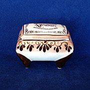 SALE Vintage Hershey's Chocolate Memories Trinket or Ring Box