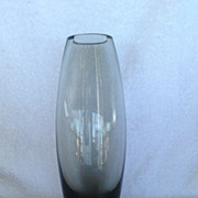 Hellas Glass Vase, Holmegaard, Danish Glassmaker, Per Lutken, 1950