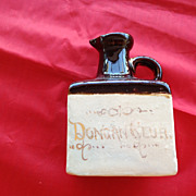SALE Antique Miniature Whiskey Dongan Club Jug 1838 - 1890