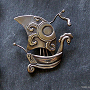 Margot de Taxco Sailboat sterling pendant