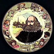 Royal Doulton Shakespeare Portrait Plate