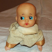 Vintage Windup Toy,  Baby Crawler