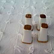 Salt & Pepper Shakers, Nippon Porcelain (2 pair Small individual)