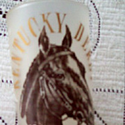 Kentucky Derby Glass Vintage 1875 thru 1963 Winners