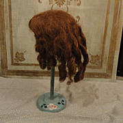 SOLD 1890's Mohair Wig for your French or German bebe