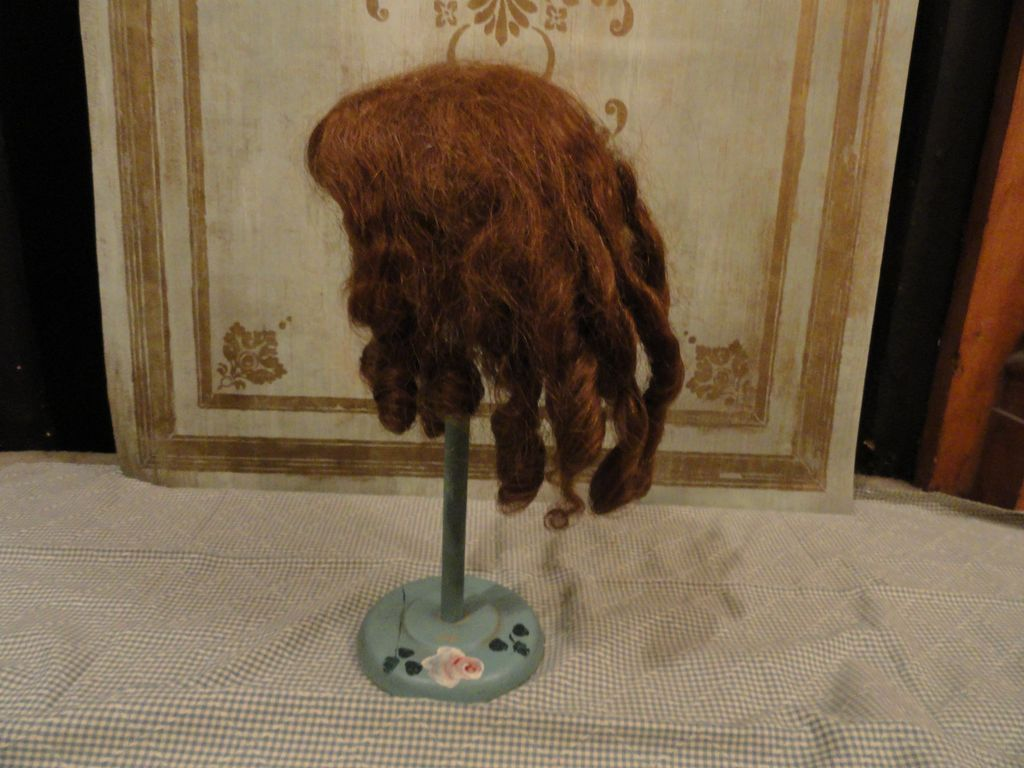 1890's Mohair Wig for your French or German bebe