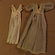 SOLD Madame Alexander 1950's Cissy Pink Peignoir Set