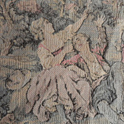 SALE Pastoral Setting Doll-sized Tapestry