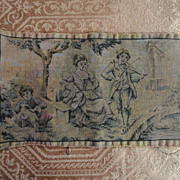 SALE Lovely Doll-size Tapestry  Made in France