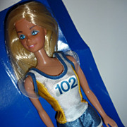 Mattel Germany~ Jogging Barbie~ From 1982-All Original With Box Liner