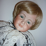 "Artist Doll -All Bisque 1987- Little Lord Fauntleroy-22"" Boy"