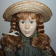 SALE PENDING Irwin~ Anne of Green Gables~ Waiting at The Station Doll -Unplayed with