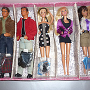 Mattel ~Beverly Hills 90210 Dolls~1992-Complete Set-All Original