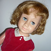 Dee Cee ~Canadian Chatty Cathy Doll~ Blonde -Blue Eyes-Replaced Dress