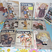 SALE Blossom Babies & Soft Sculpture Doll Patterns -1980's-Lot of  11 Patterns