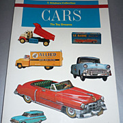 Cars ~Tin Toy Dreams~ Reference Book By Teruhisa Kitahara -1984-85