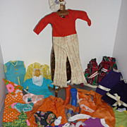 SALE Ideal Crissy & Family Clothes, Shoes BIG lot -Fun-tastico! 1960's-70's
