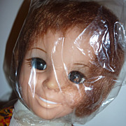 Ideal Crissy Doll -Plastic Wrap on Head + 4 Outfits, Shoes