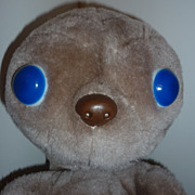 1982 Kamar,  E.T. Extra Terrestrial Plush Doll Toy  11&quot; Tall