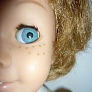 Dee Cee ~Chatty Cathy Doll~ Blonde Bob -Blue Glassiene Eyes -Sleep Time & Nursery School
