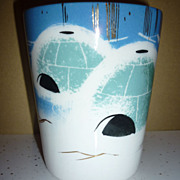 Matthew Adams -Alaska Series Pottery- CUP ~Igloos~ 1950's-1960's