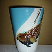 Matthew Adams ~Alaska Series-Vase- Seal- Signed & Numbered Piece- Mid-Mod