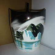 Matthew Adams ~Iceberg or Glacier -Ice Bucket~ Signed & Numbered Mid-Mod - HTF Piece