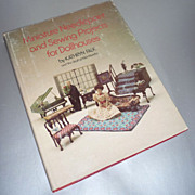 ~Miniature Needlepoint and Sewing Projects for Dollhouses~Book-1977 First Edition