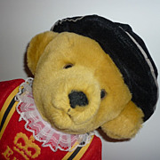 Harrod's Exclusive ~Merrythought-Beefeater-Teddy Bear~ Hang Tag -Unplayed With