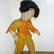 Norah Wellings ~Gaucho Felt Doll~ 1930's - 14 1/2&quot; Tall -Original Outfit