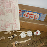 Pelham-Disjointed Skeleton~Original box-Instructions-1950's~TLC