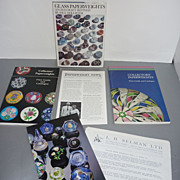 SOLD Collection of Selmans ~Collectors' Paperweights Price Guides & Catalogues, Paperweight Ne