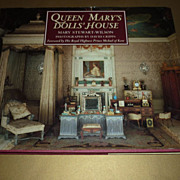 "~ Queen Mary's Dolls"" House~Book-Hardcover -Mary Stewart Wilson"