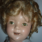 SALE Ideal Shirley Temple Doll -1934-Nice Clear eyes, Pretty Girlie!