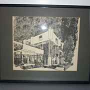 1964 Framed Print-Tyrone Guthrie Theater-Minneapolis, Minnesota