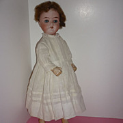 "15"" Bisque & Composition Doll-Marked 1912 9/0 -Original Antique Clothes"