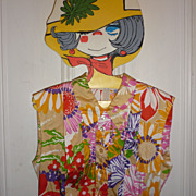 Funky 1960's One Of A Kind Dress - Long Style~Home Made- Boho Chic!