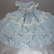 REDUCED 1950's  Blue Taffeta  Dress for High Heeled Fashion Doll