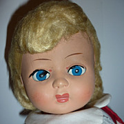 "Furga ~Italian Doll~ 1950's / 60's Example -Blonde -15"" Tall"