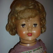 REDUCED Palitoy ~Flirty Eyed, Walker Doll - circa 1950's  Blonde Hair