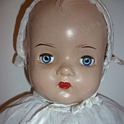 "SALE Reliable Mama Doll - 1934 composition-Big Baby 24"" + Vintage outfit"