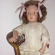 SOLD Schoenhut #301 Doll - Original Onesie, Schoenhut Shoes, Antique Socks, Dress