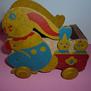 SALE Durrel Company Trixy Toy Bunny Wagon 1926-31 for Dolls and Bears