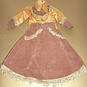 1950's Western Doll Outfit - Skirt and Blouse
